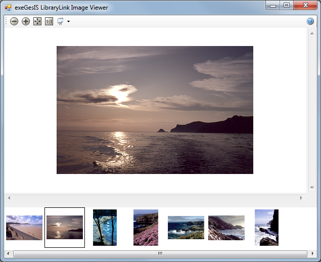 LibraryLink document and image management software viewer